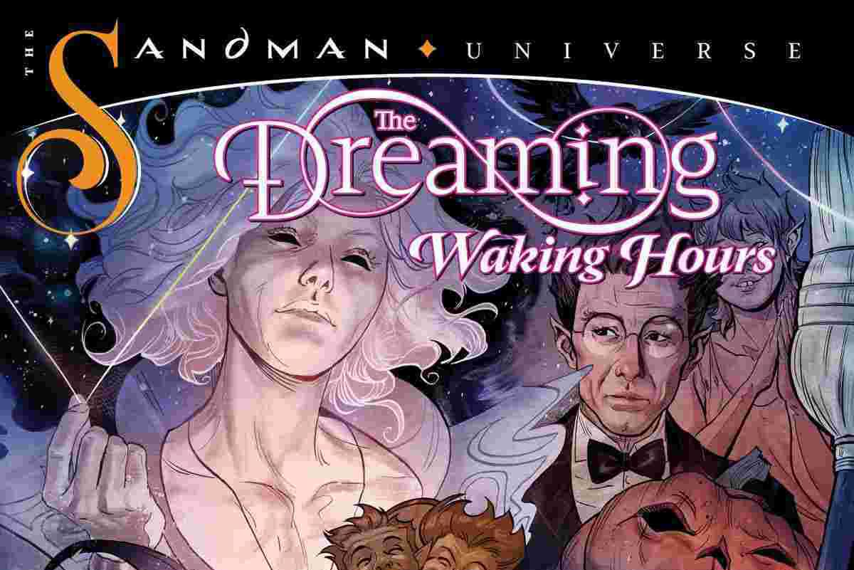 The Dreaming Waking Hours Num 1 Cover título