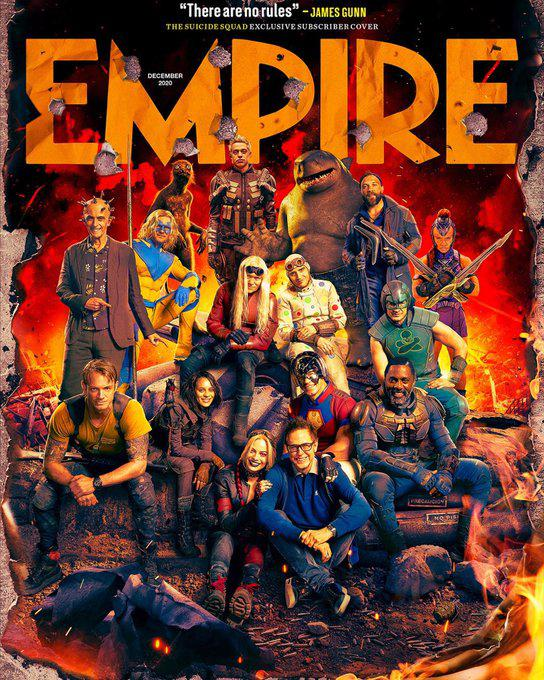 The Suicide Squad Portada Empire 2