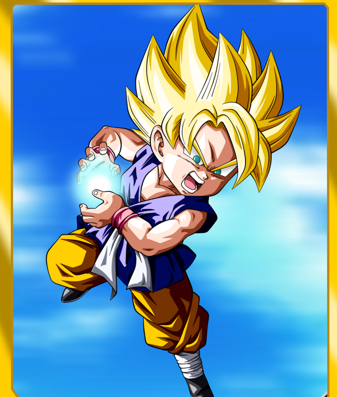 (Dragon Ball GT) Son Goku 'Super Saiyan'