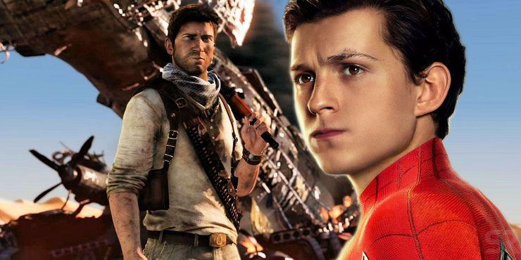 Tom-Holland-as-Spider-Man-and-Nathan-Drake-in-Uncharted