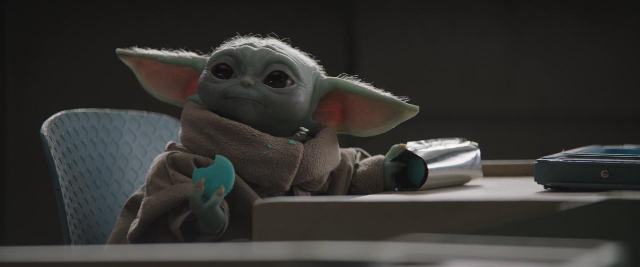 The Mandalorian - Baby Yoda y la Galleta
