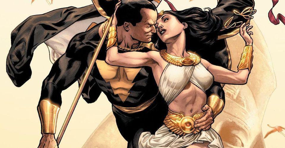 Black-Adam-and-Isis-from-DC-comics