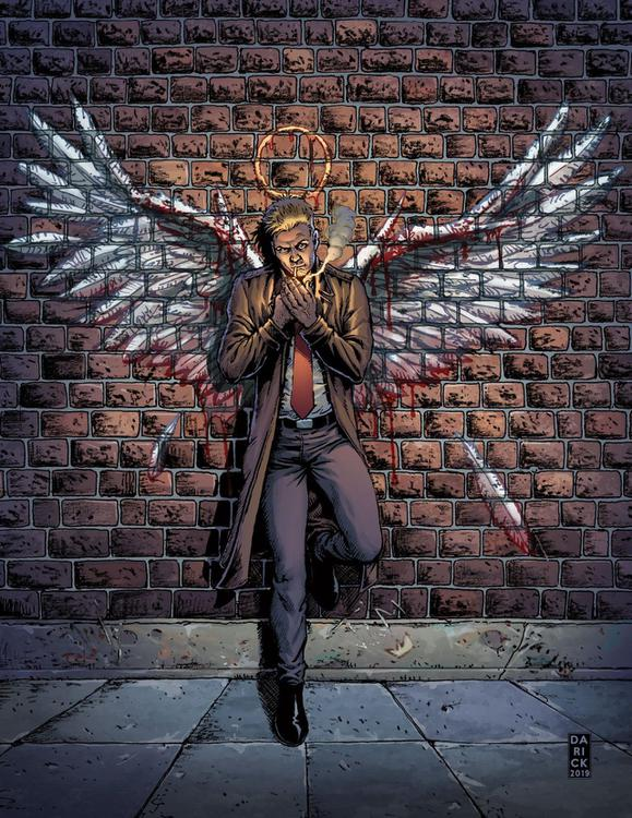Hellblazer Rise and Fall num 1 Cover