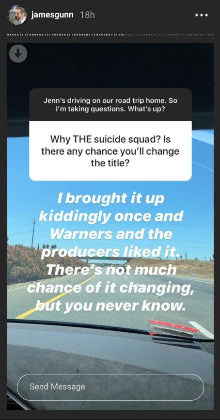James-Gunn-discussing-The-Suicide-Squad-title-on-Instagram