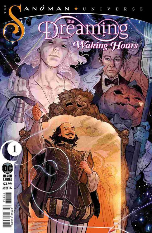 The Dreaming Waking Hours Num 1 Cover