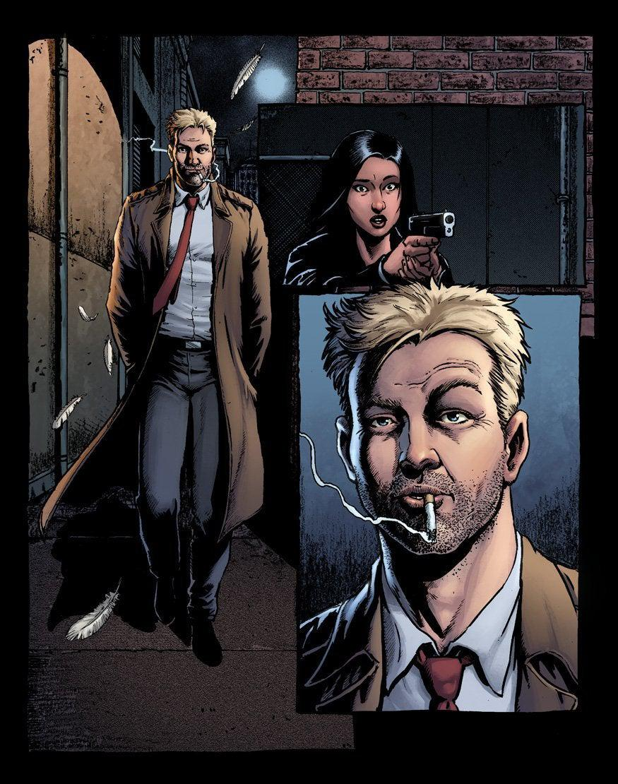 Hellblazer Rise and Fall Num 1 Preview Page B