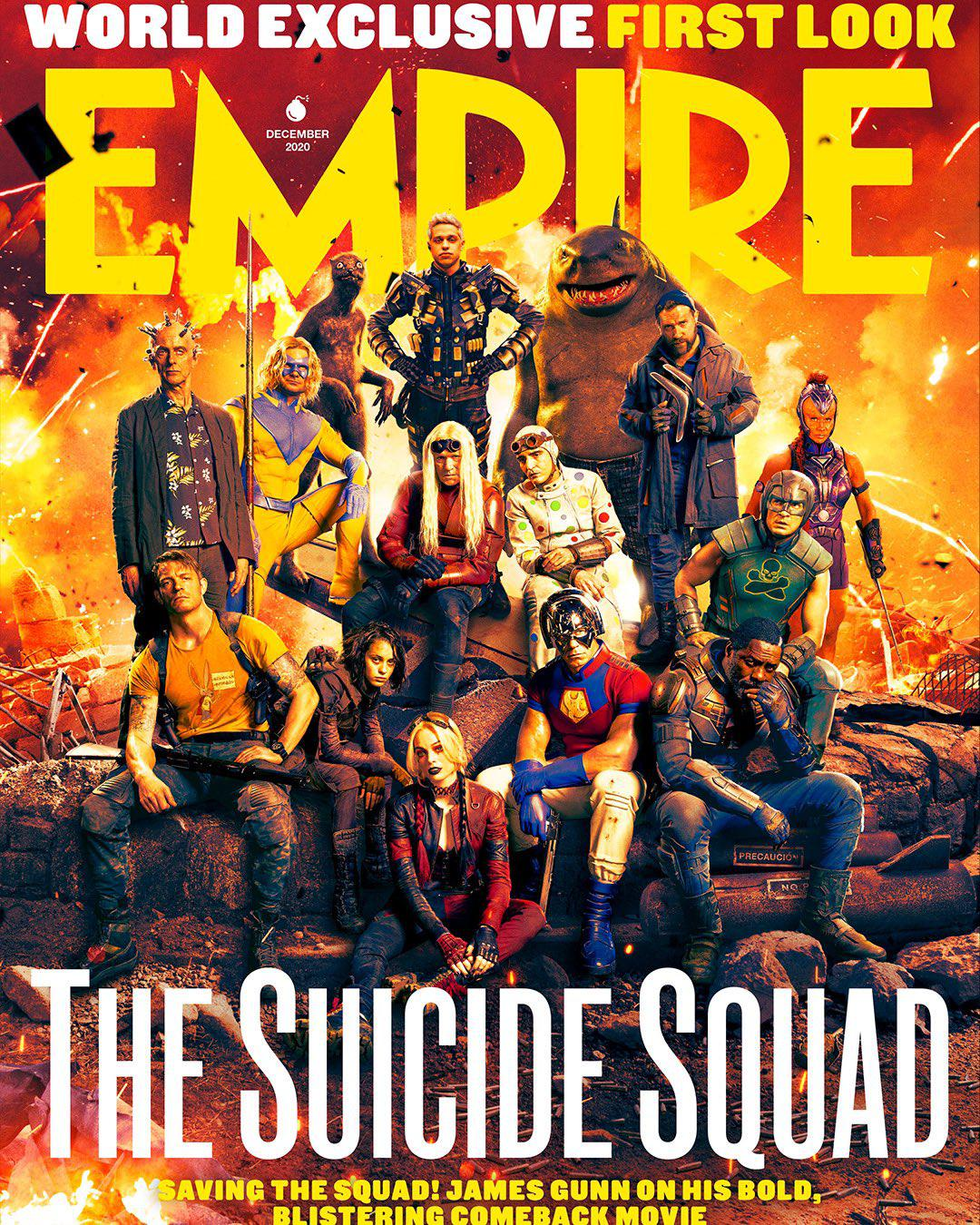 The Suicide Squad Portada Empire 1